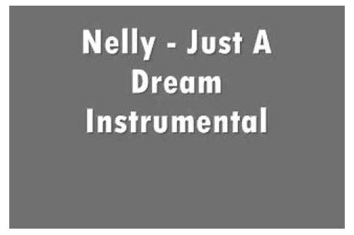 download nelly just a dream mp3 free