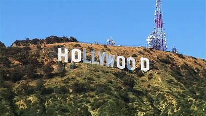 Hollywood Sign Wallpapers Wallpapersafari Zoom Sunset
