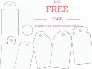make your own custom gift tags with these free printable With free printable customizable gift tags