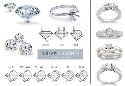 diamond wedding ring guide the perfect diamond one white dress