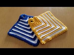 Wolle Für Topflappen : topflappen h keln einfacher topflappen mit rippenmuster ~ Watch28wear.com Haus und Dekorationen