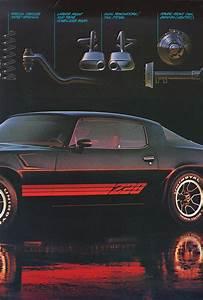 1981 Camaro Sales Brochure