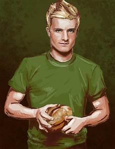The boy with the bread - Peeta Mellark Fan Art (27589230 ...