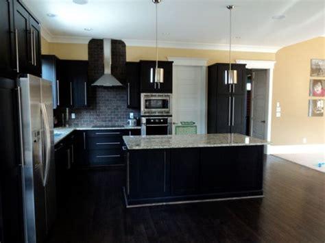 dark hardwood floors  elegant  strong choice