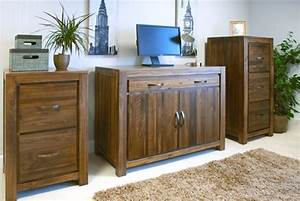 Mayan Walnut Hidden Home Office AKD Furniture