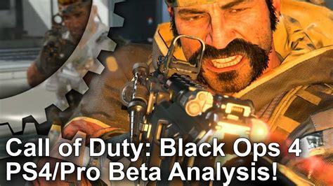 call  duty black ops  ps  ps pro beta