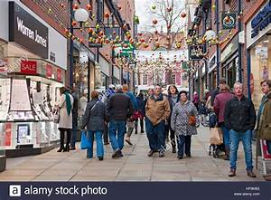 Coppergate shopping centre at Christmas York North ...