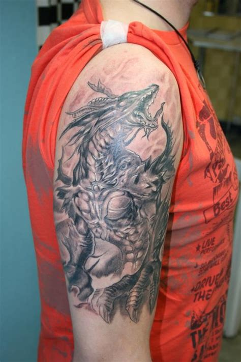 fantasy dragon tattoos designs images  ideas