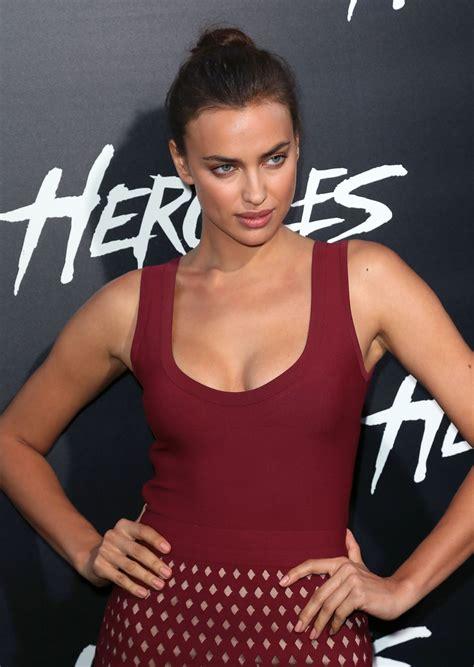 IRINA SHAYK at Hercules Premiere in Los Angeles – HawtCelebs