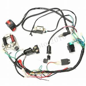 Cdi Wire Harness Stator Assembly Wiring Fit Atv Electric
