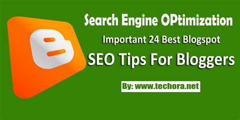 Search Engine Optimization Tips by 24 Best Important Seo Tips To Increase Traffic