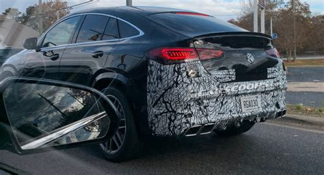 When slowpokes spot the amg grille with vertical slats, angry lower facia with. 2021 Mercedes-AMG GLE 63 Coupe Spotted In America All Muscled Up | Carscoops
