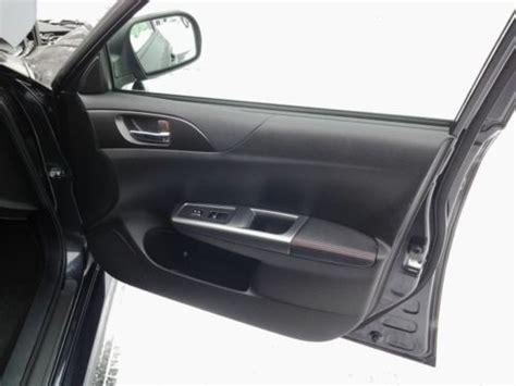 electronic stability control 2011 subaru impreza seat position control purchase used 2011 subaru impreza wrx wagon 4 door 2 5l premium dark gray metallic in geneva