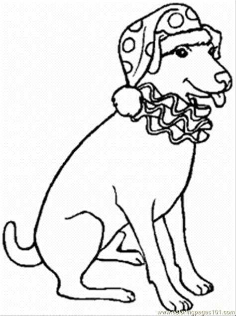 Clown Coloring Pages free printable coloring page