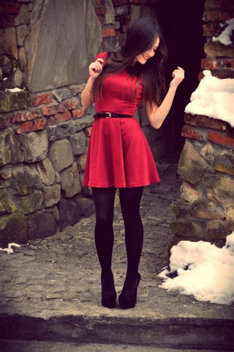 17 best ideas about black stockings outfit on pinterest