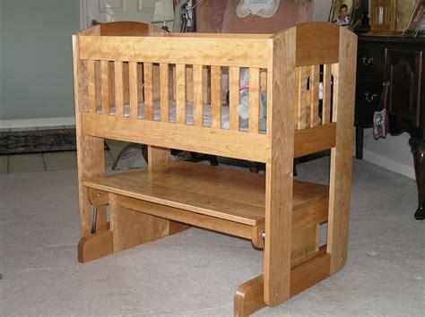 baby crib plans baby cradle glider by dukeofburl lumberjocks