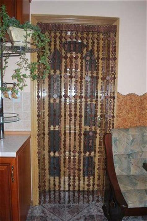 Wood Bead Curtains For Doorways by New Wooden Beaded Door Curtain Handmade