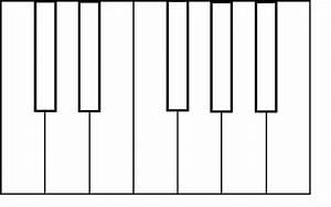 Colorful Piano Keyboard Clipart (23+)