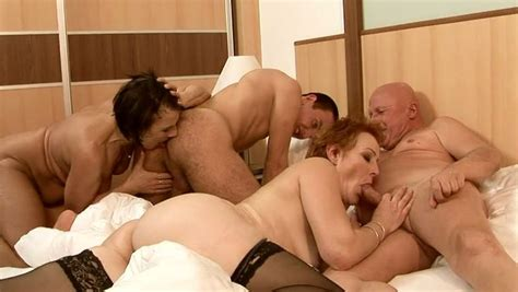 Mature Sluts Get Their Hot Snatches Fucked Hard In Group