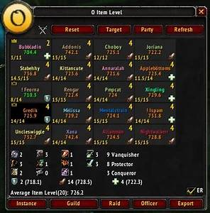 Wow Id Sehen : overview o item level oilvl addons projects wow curseforge ~ Watch28wear.com Haus und Dekorationen