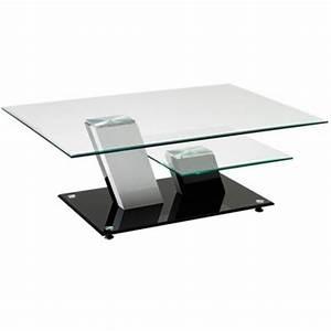 Table Basse Noire Design : table ronde en verre ikea ~ Teatrodelosmanantiales.com Idées de Décoration