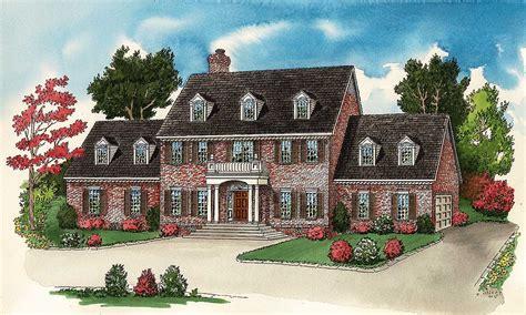 formal georgian house plan dc architectural designs house plans
