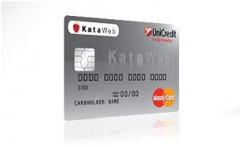 Unicredit Clarima by Carta Kataweb Unicredit Quanto Costa La Funzione Revolving