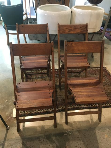 wood folding chairs set form function
