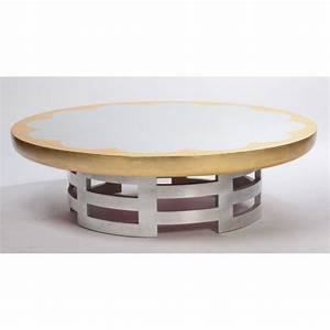silver and gold leaf lotus coffee table by muller and With gold and silver coffee table