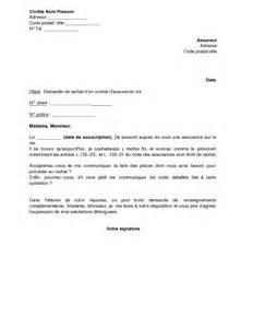 Deblocage Assurance Vie by Lettre Type Pour R 233 Silier Une Assurance Mod 232 Le De Lettre