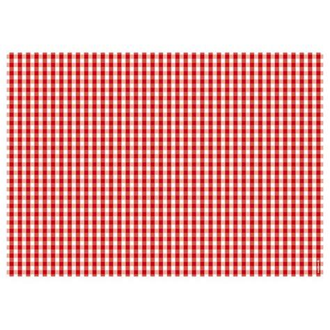 fly table cuisine bloc de sets de table vichy trendform