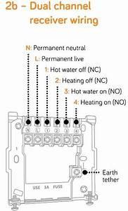 Worcester Boiler  U0026 Hive Dual Channel Wiring Help