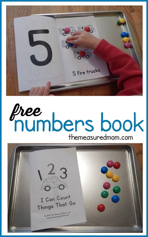 preschool number book free numbers book for ages 2 5 the measured 179