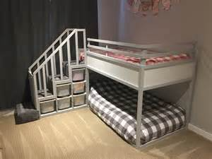 kura bunk bed hack for two toddlers ikea hackers ikea