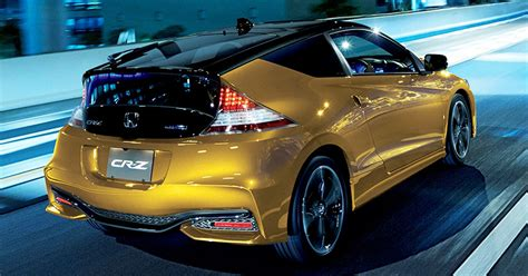 You Can Now Buy The Refreshed Honda Cr-z