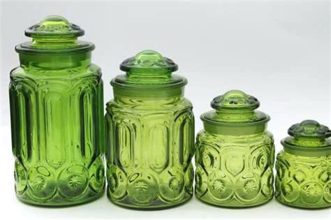 green kitchen canister set green canister set 8 mint lime kitchen sets 4003
