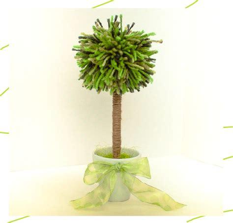 DIY   สร้างแฟชั่นของตัวเองง่ายๆ: DIY ปอมปอมต้นไม้ประดิษฐ์