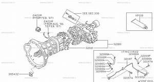 320 - Manual Transmission  Transaxle  U0026 Fitting For King Cab D21 Nissan King Cab