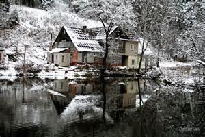 Vilnius Lithuania Winter
