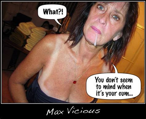 Sexy Captions By Max Vicious Slut Mom