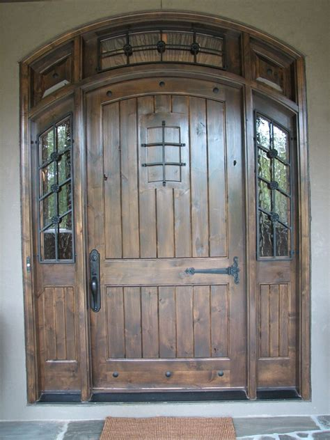 Hand Made Knotty Alder Door By The Looking Glass. Window Treatments For Doors. Small Bookcase With Doors. Free Garage Sale App. Energy Efficient Sliding Glass Doors