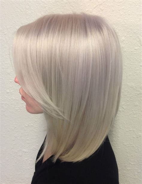 icy platinum hair pictures   images