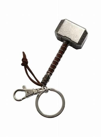 Hammer Keychain Thor Marvel Mjolnir Thors Avengers