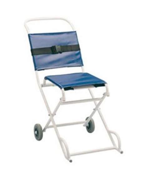 ambulance evacuation chair folding wipe clean