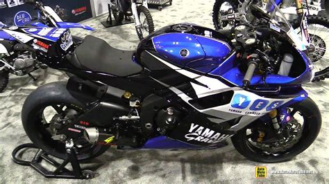 2016 Yamaha R6 Motoamerica Racing Bike