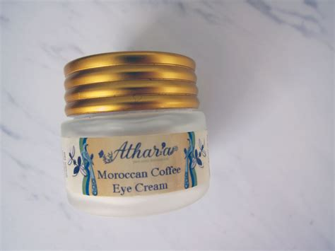 While morocco is known worldwide for its exquisite and uniquely relaxing mint tea, coffee is also consumed by locals in morocco. Review: Athar'a Pure Moroccan Coffee Eye Cream - beauty finds adventures