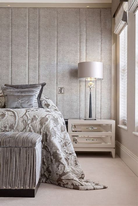Headboard Wall Panels by To Be Different 27 Fabric Accent Walls Digsdigs