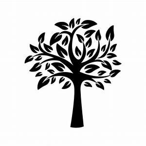 Tree, Of, Life, Stencil