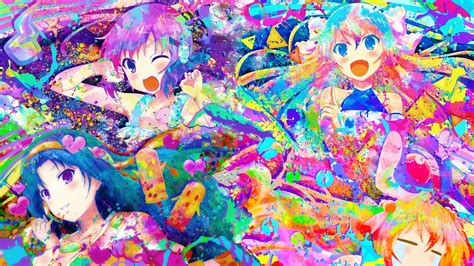 Colorful Anime Wallpaper - anime colorful rokujouma no shinryakusha hd wallpapers
