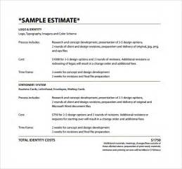 Tree Trimming Cost Estimate by Estimate Template 9 Free Documents In Pdf Word